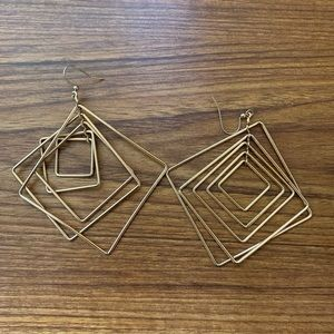 Baublebar Dangly Geometric Earrings